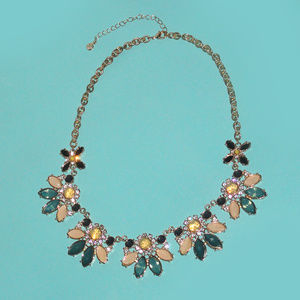 ANN TAYLOR LOFT JEWELED NECKLACE